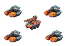 Monsterpocalypse – G-Tanks & Repair Truck: G.U.A.R.D. Unit (resin)